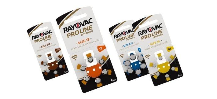 Hoortoestel Batterijen - Rayovac ProLine Batterijen